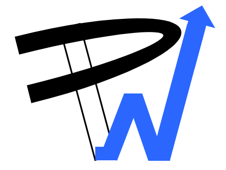 performances web icone noir blanc bleu