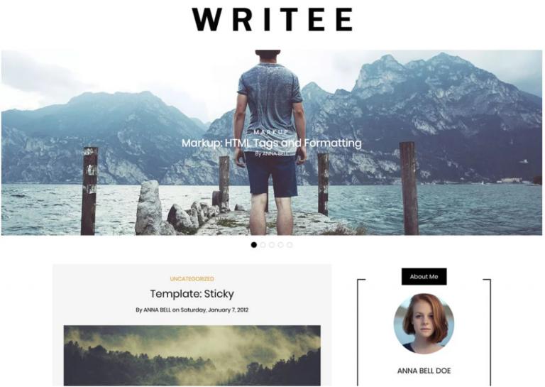 theme wp blog